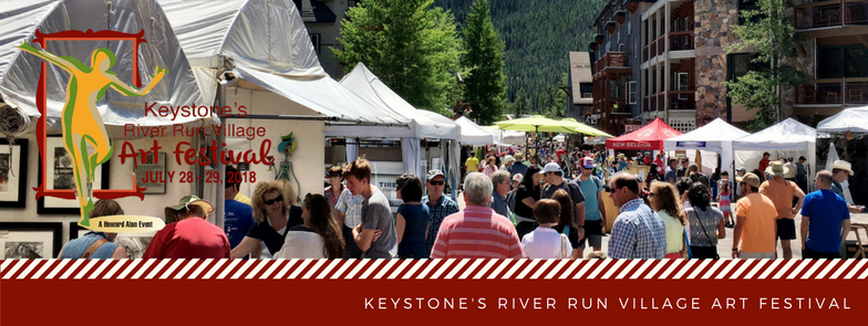 Keystone's River Run Art Festival