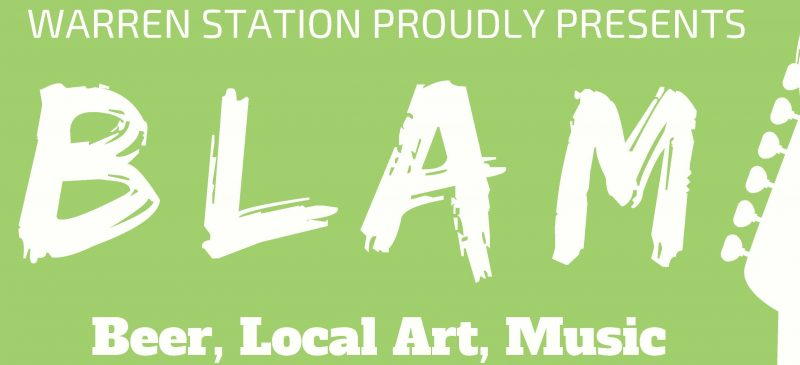 BLAM (Beer, Local Art, Music)