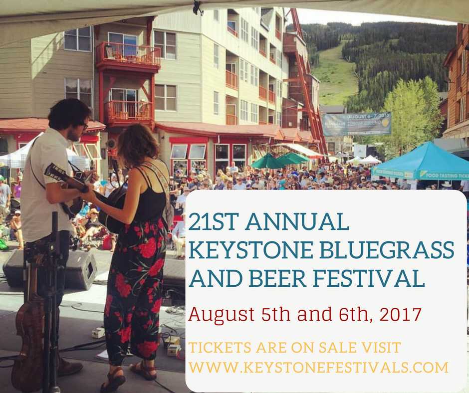 Free Bluegrass Concerts At Keystone Resort All Weekend Long!