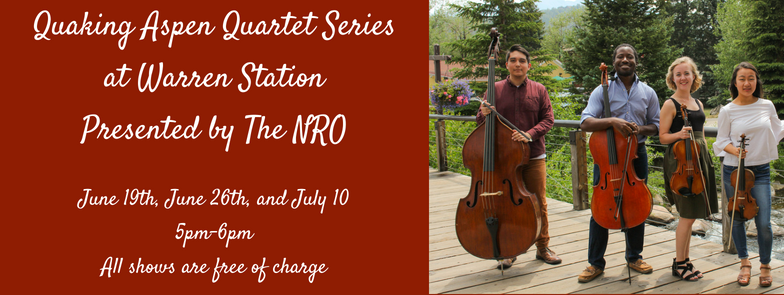 Quaking Aspen Quartet Series At Warren Station: Presented By The NRO