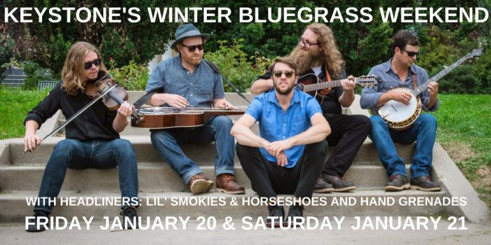 Keystone's Winter Bluegrass Weekend At Warren Station