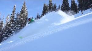 skier on the slopes at Keystone