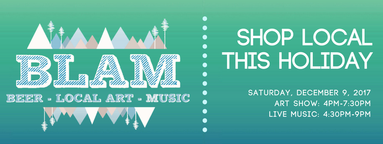 Winter B.L.A.M. (Beer, Local Art, And Music)