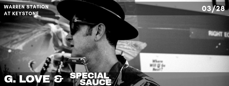 G. Love &  The Special Sauce Return To Warren Station At Keystone!