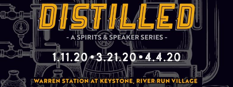 Distilled Logo For The Speaker Series