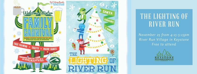 The Lighting Of River Run