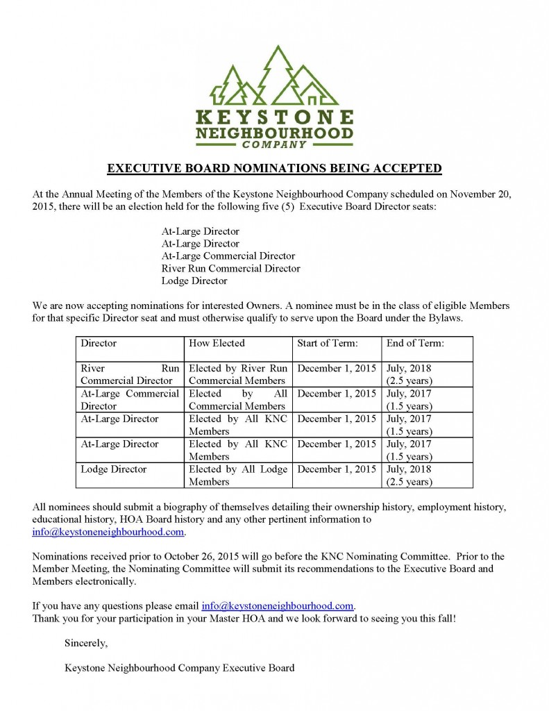 NOTICE OF ANNUAL MEMBERS Combined