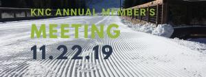KNC Member's meeting
